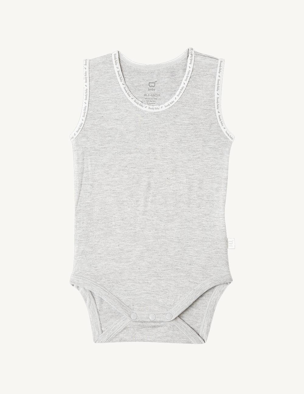 BOODY BABY SLEEVELESS BODYSUIT
