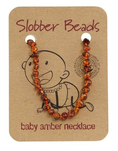 Slobber Toddler Amber Necklace