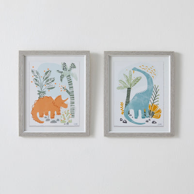 Dino Wall Art Set of 2