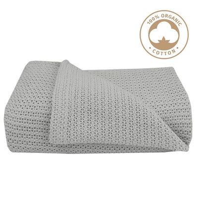 Organic Bassinet/Cradle Cell Blanket