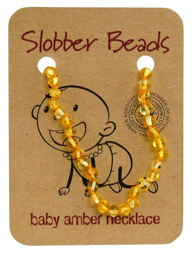Slobber Baby Amber Necklace