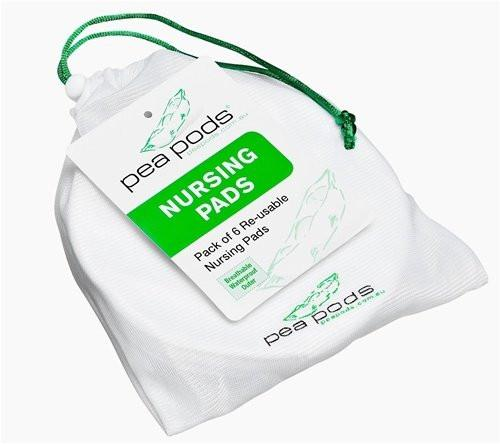 Pea Pods Nursing Pads 6 Pack Re-usable