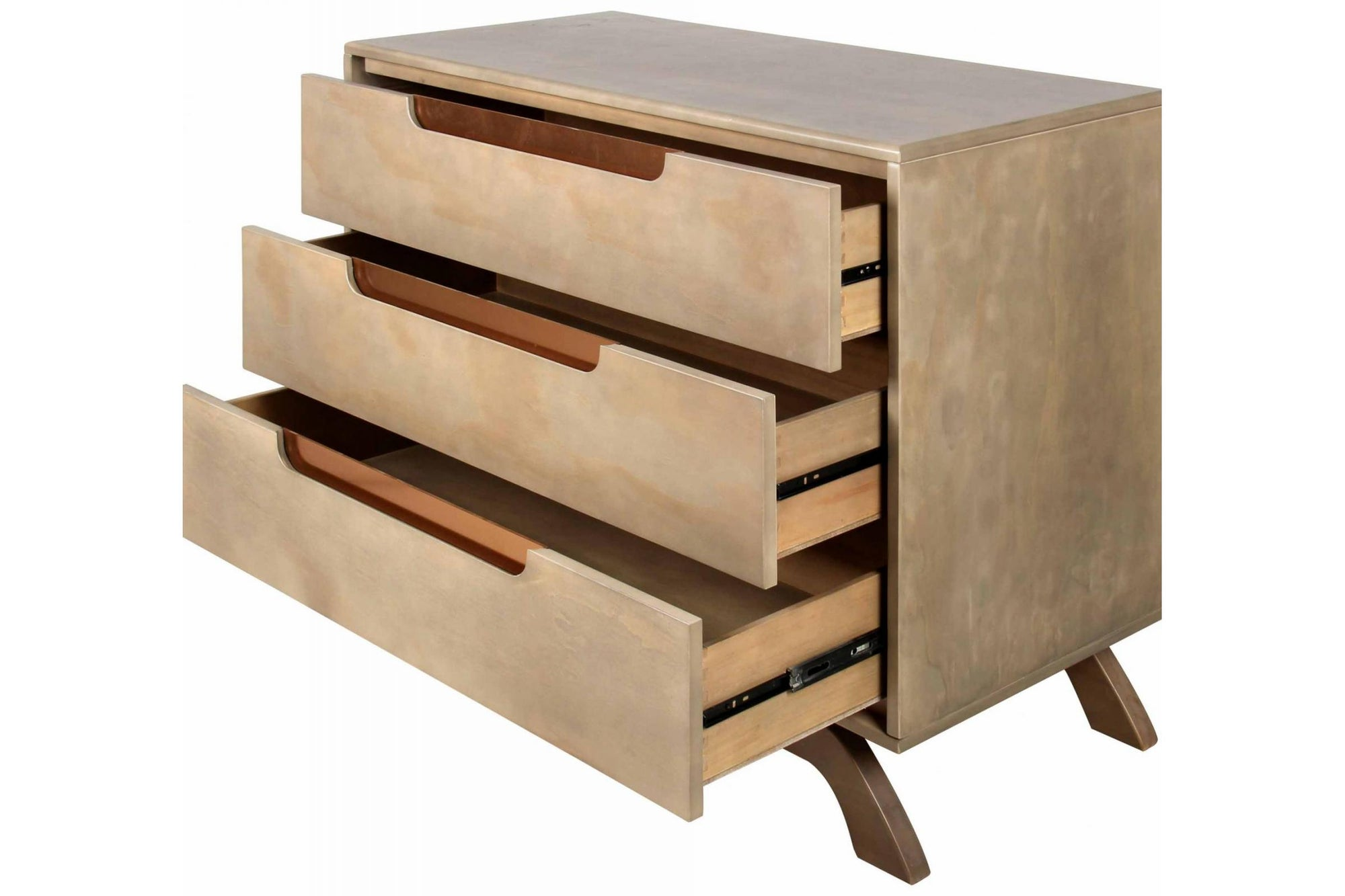 Grotime Retro 3 Drawer Chest