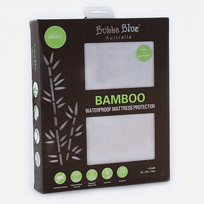 Bamboo Cradle Waterproof Mattress Protector
