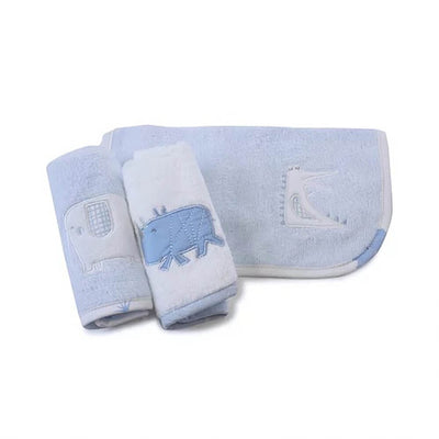 Bubba Blue 3 Pack Face Washers