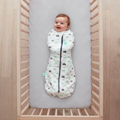 Cocoon Swaddle Bag 2.5 tog 3-12 Months Clouds