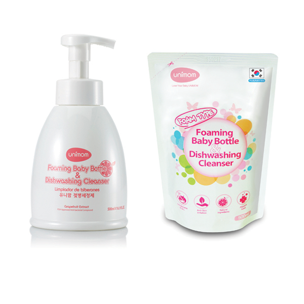 Unimom Foaming Bottle Cleanser