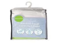 Travel Cot Bamboo Fitted Sheet