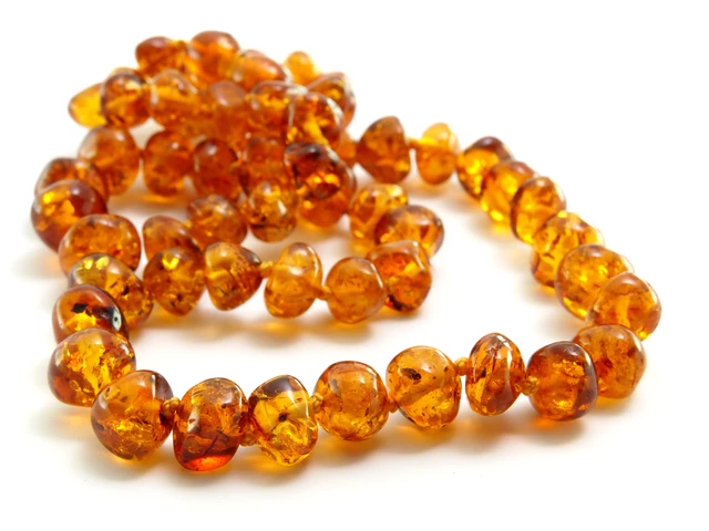 Slobber Adult Amber Necklace