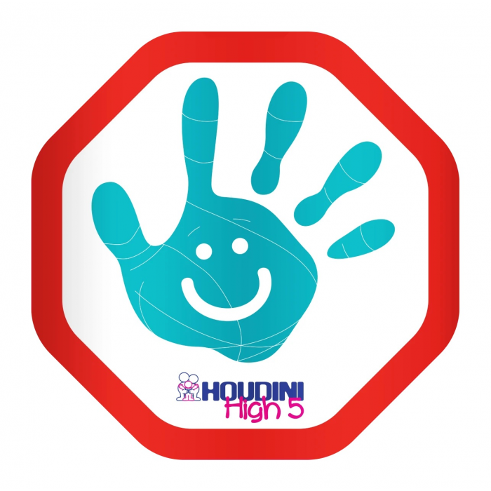 Houdini Hi 5 Sticker Twin Pack