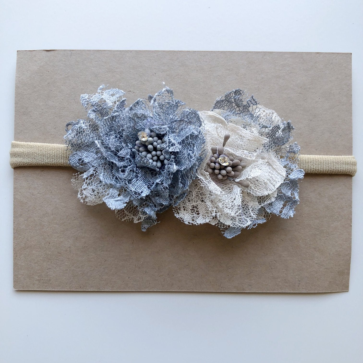 LT Floral Lace Headband