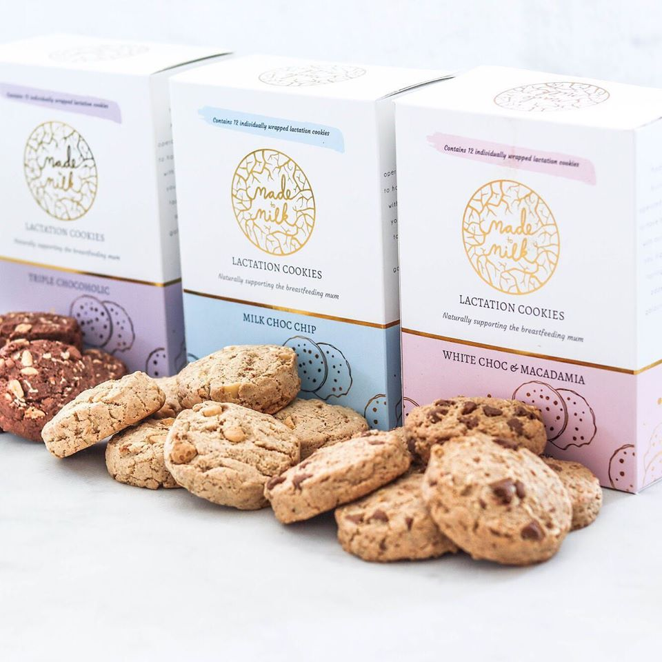 MADE TO MILK LACTATION COOKIES