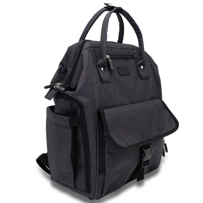 URBAN NAPPY BACKPACK WITH WHALE MOUTH