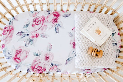 Snuggle Bassinet Sheet | Cot Sheet Set