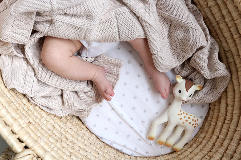 Organic Cotton Cot Blanket