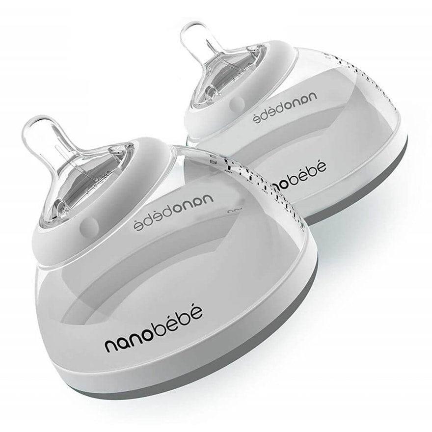 NANOBEBE 2 PACK  BREASTMILK BOTTLE