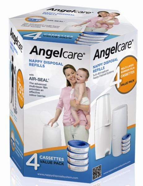 Angelcare Captiva 4 Pack Refills