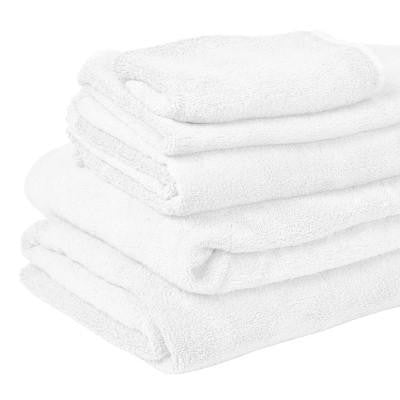 Organic Bamboo Bath Towel White