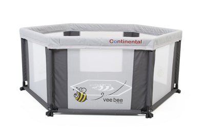 VEEBEE 6 SIDED PLAY YARD INCLUDING MAT