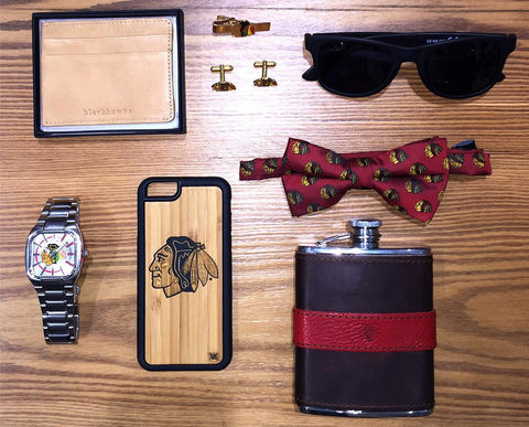 Twig Case Co. iPhone case & the Chicago Blackhawks. All Winners, and Stronger than Wood!