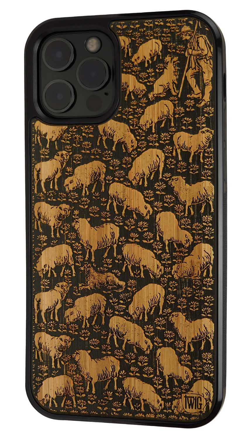 Sheepish - Case for iPhone 12/Mini/Pro/Max, Case for iPhone 12/Mini/Pro/Max - Twig Case Co.