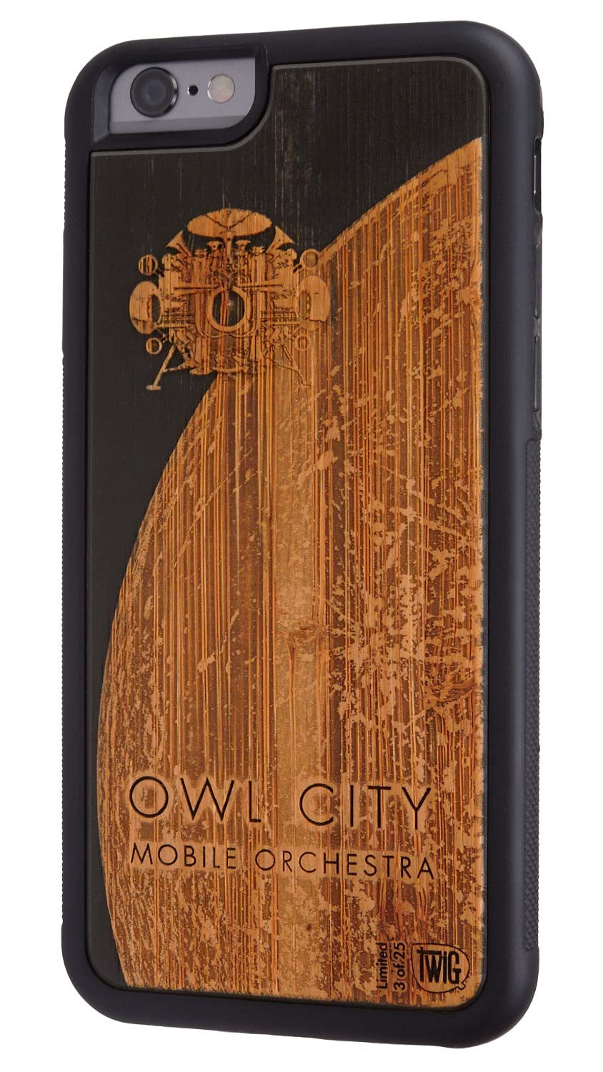 Owl City Mobile Orchestra iPhone Case #1- Limited Edition of 25, Case for iPhone 6/6s & Plus - Twig Case Co.