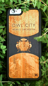 Owl City Mobile Orchestra iPhone Case #2 - Limited Edition of 100, Case for iPhone 6/6s & Plus - Twig Case Co.