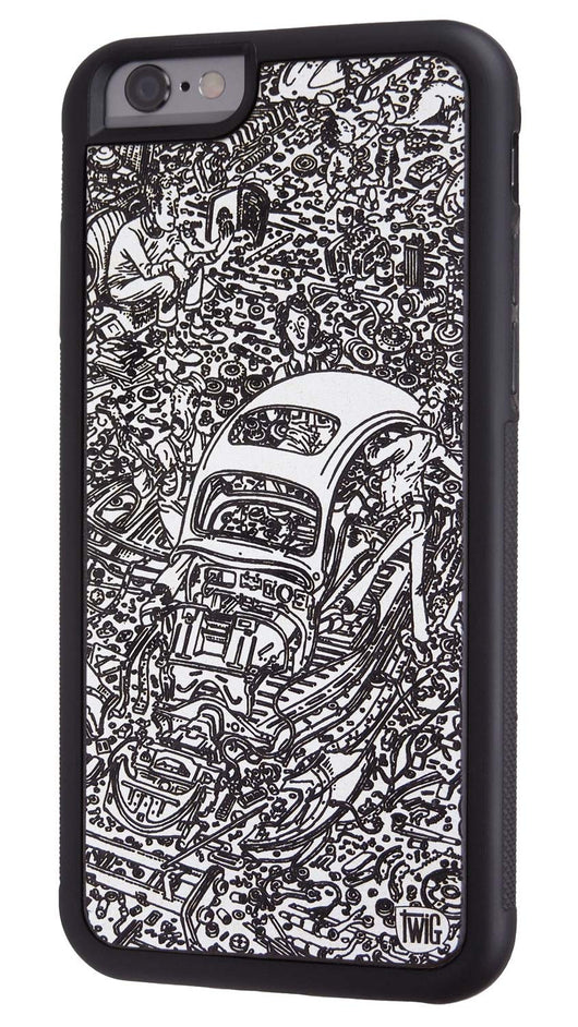 the best attitude 371b9 742a4 Exploded Beetle - Paper Case for iPhone 6/6s & 6/6s Plus