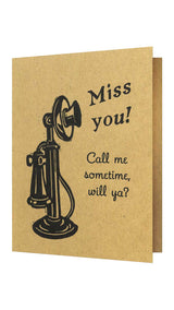 Old News - Letterpress Greeting Cards, Cards - Twig Case Co.