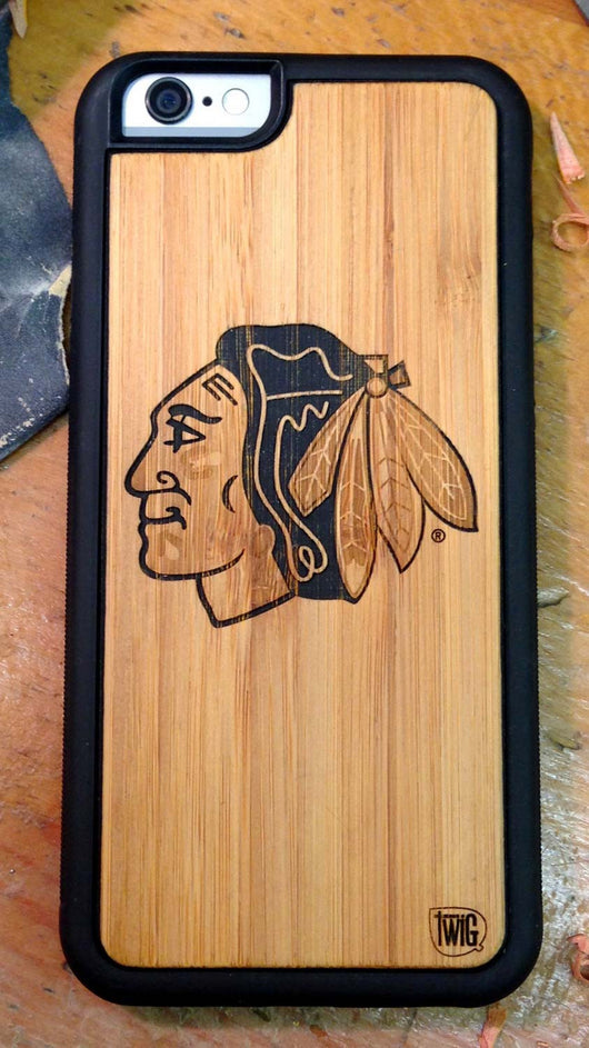 Chicago Blackhawks - Case for iPhone 6/6s & 6/6s Plus, Case for iPhone 6/6s & 6/6s Plus - Twig Case Co.
