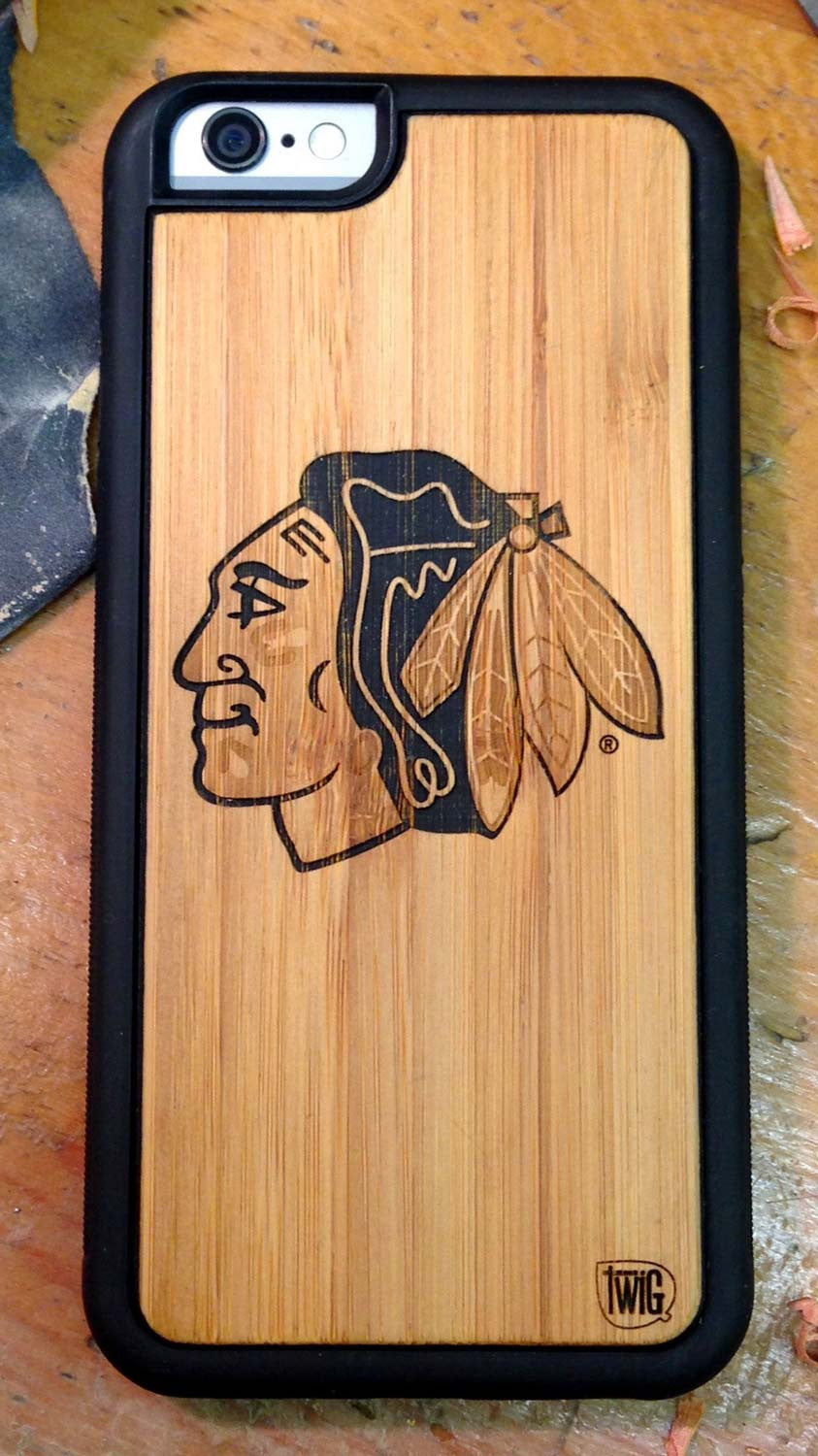 Chicago Blackhawks - Case for iPhone 6/6s & Plus, Case for iPhone 6/6s & Plus - Twig Case Co.