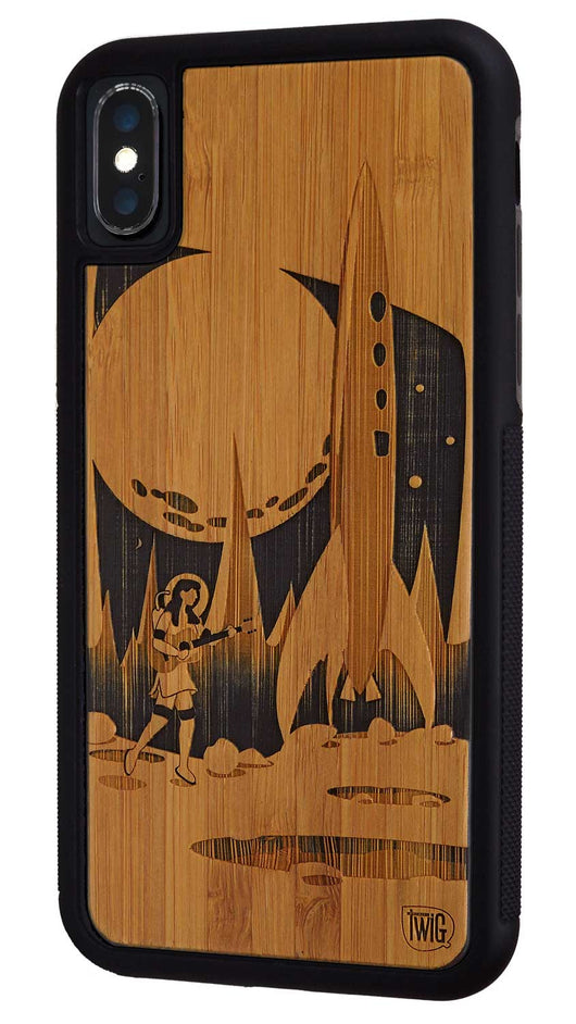 Moon Girl - Case for iPhone X, Case for iPhone X - Twig Case Co.