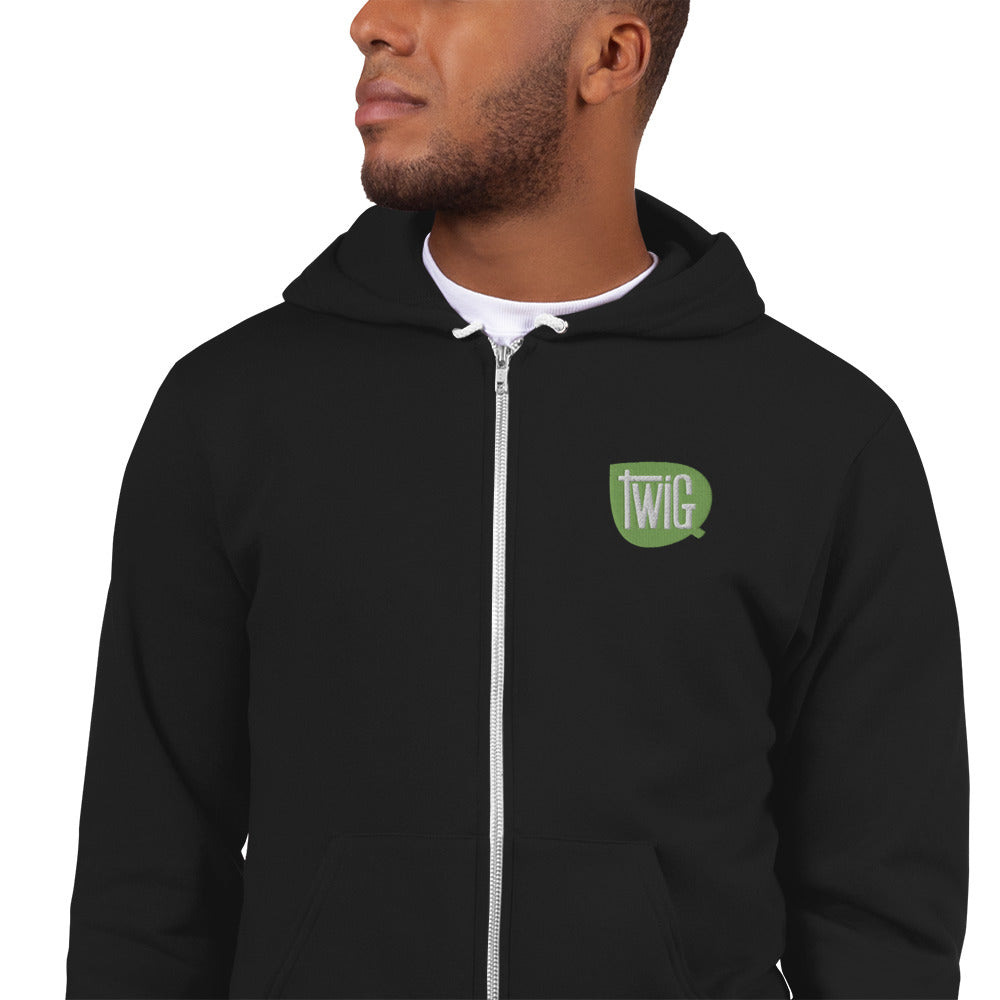 Twig Logo Embroidered Hoodie, Shirts - Twig Case Co.