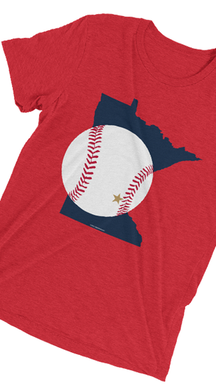 Baseball in Minnesota  - Vintage T-shirt, Shirts - Twig Case Co.