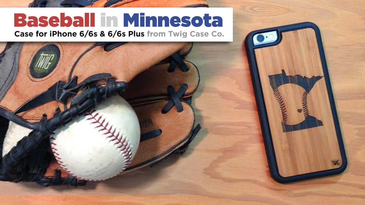 Baseball in Minnesota case for iPhone 6/6s & 6/6s Plus
