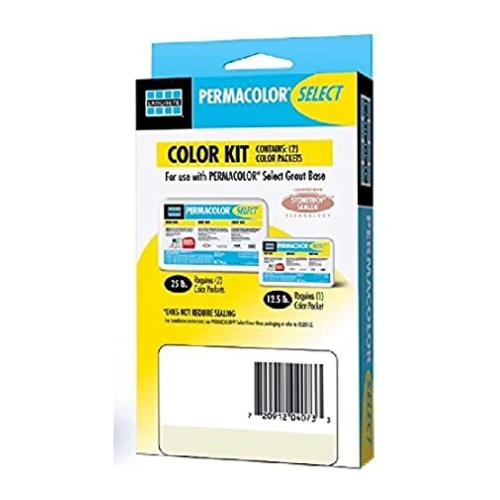 Permacolor SELECT Grout Color Kit - Color: Dusty Grey