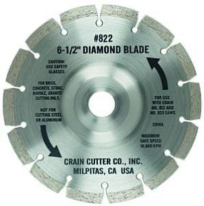 No. 822 Diamond Undercut Blade - Mezquite Installations