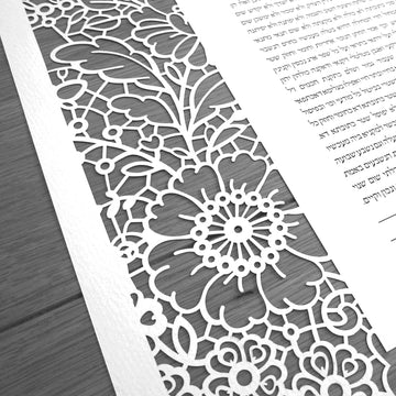 Lace in Bloom Laser Cut