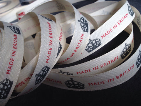 Berisfords Vintage Ribbon - Made in Britain