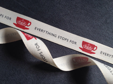 Berisfords Vintage Ribbon - Everything Stops