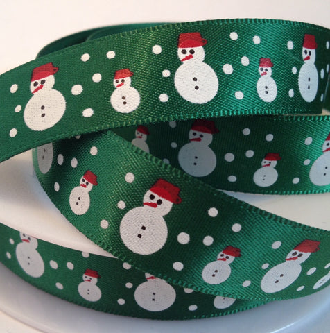 Christmas Snowman Ribbon