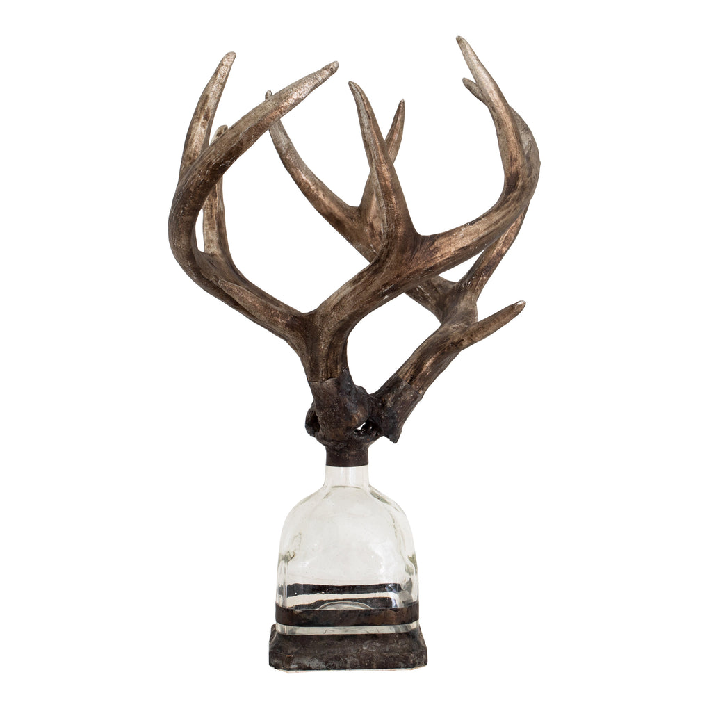 Triple Medium Antler Bottle