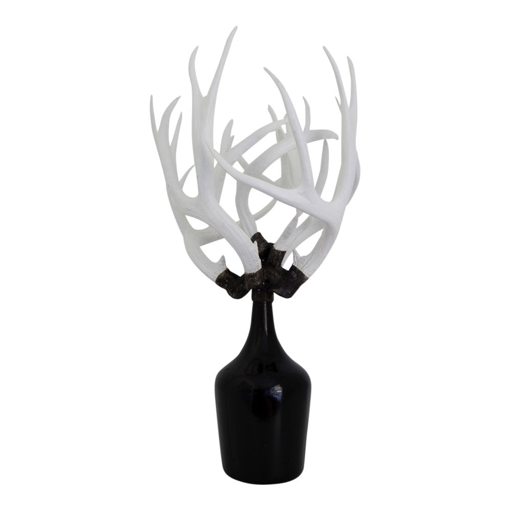 Demijohn Antler Bottle Black