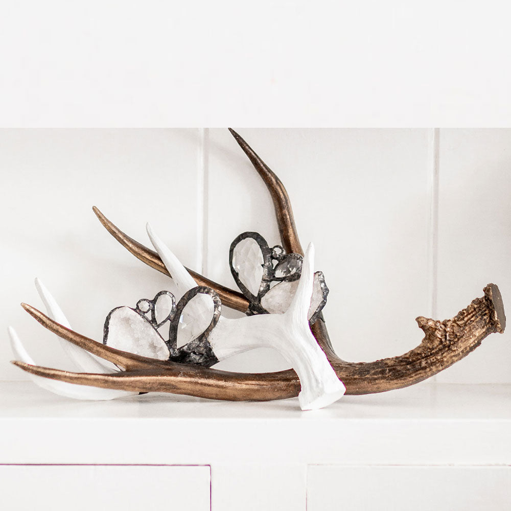 *N E W* Embellished Antler (Medium or Large) - (ACC-M-EmbAnt ∙ ACC-L-EmbAnt)