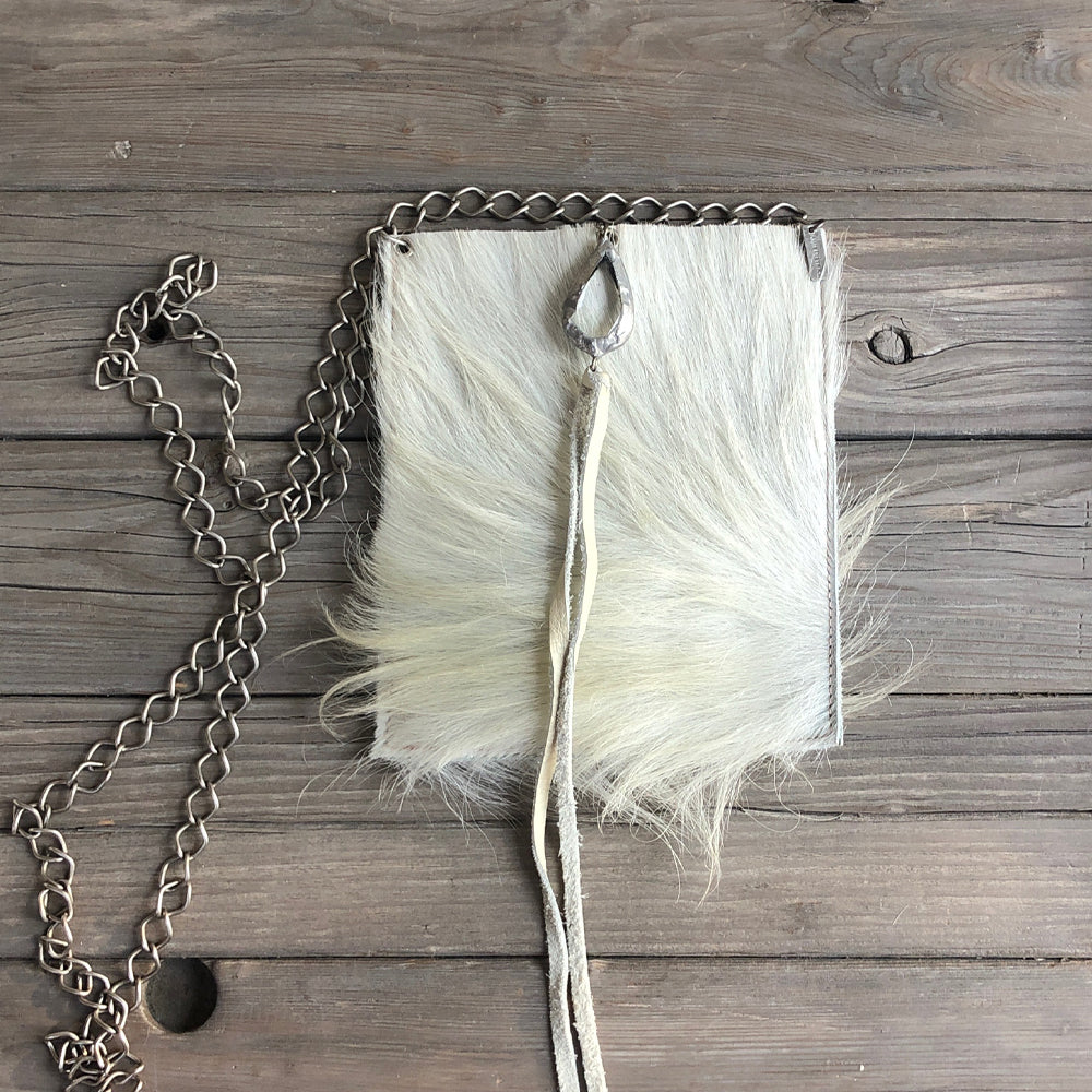Coco White Hide - Tassel