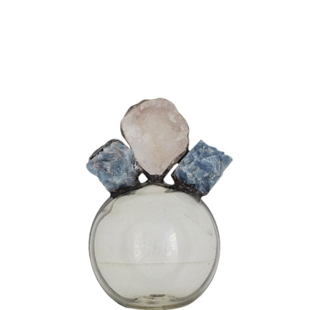 Blue Calcite Geode Float (Small)