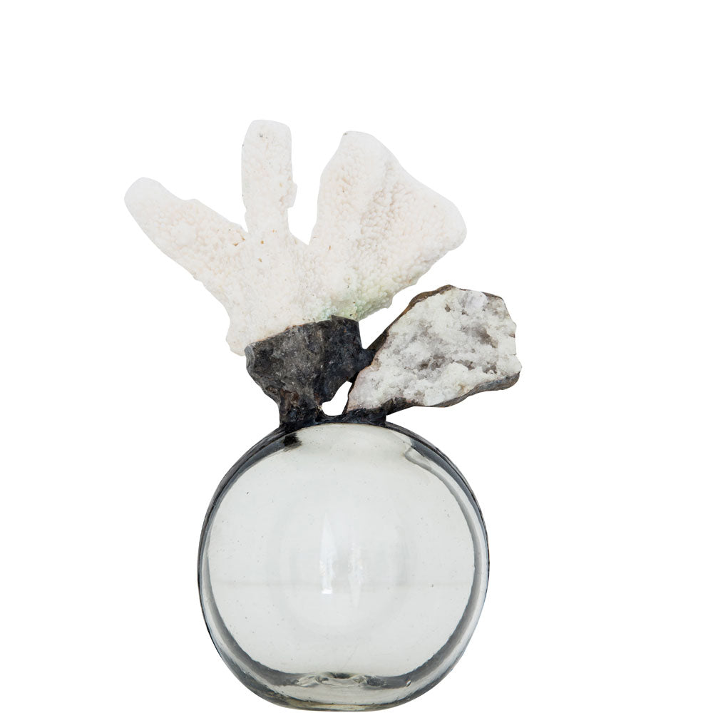 Coral Geode Float (Small)