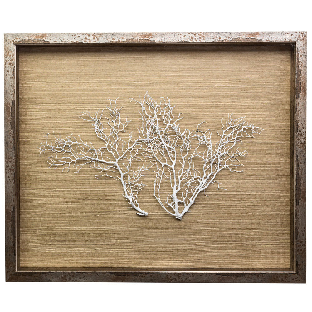 Sealife Shadow Box - Natural/White or Natural (s/f) - Starfish White