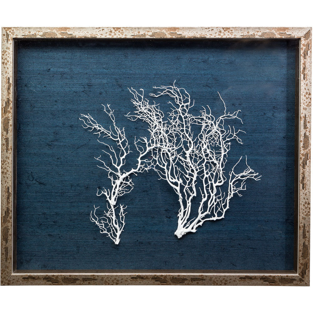 Sealife Shadow Box - Navy/White  (s/f) - (SBS-NvWh)