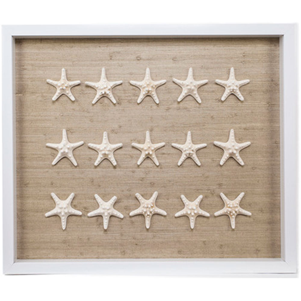 Sealife Shadow Box - Natural/White